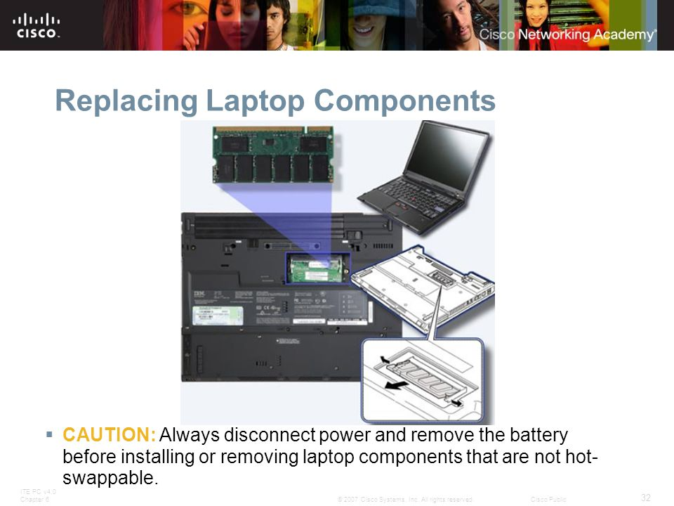 Replacing Laptop Components