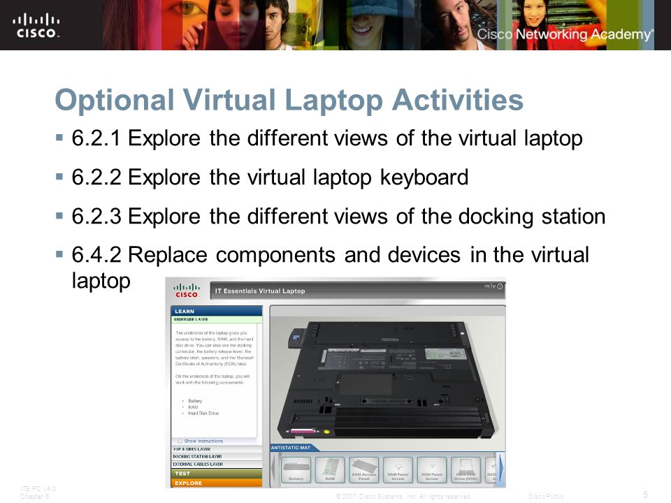 Optional Virtual Laptop Activities