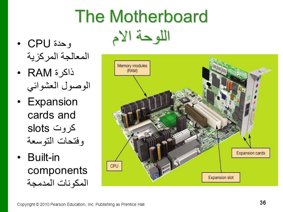 The Motherboard اللوحة الام