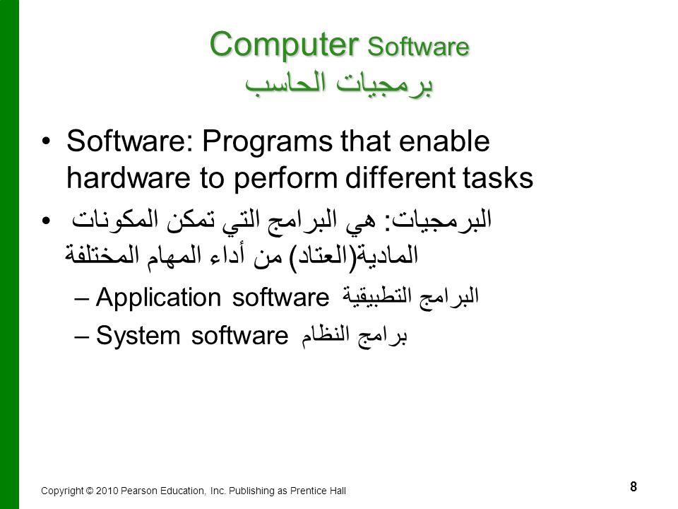 Computer Software برمجيات الحاسب