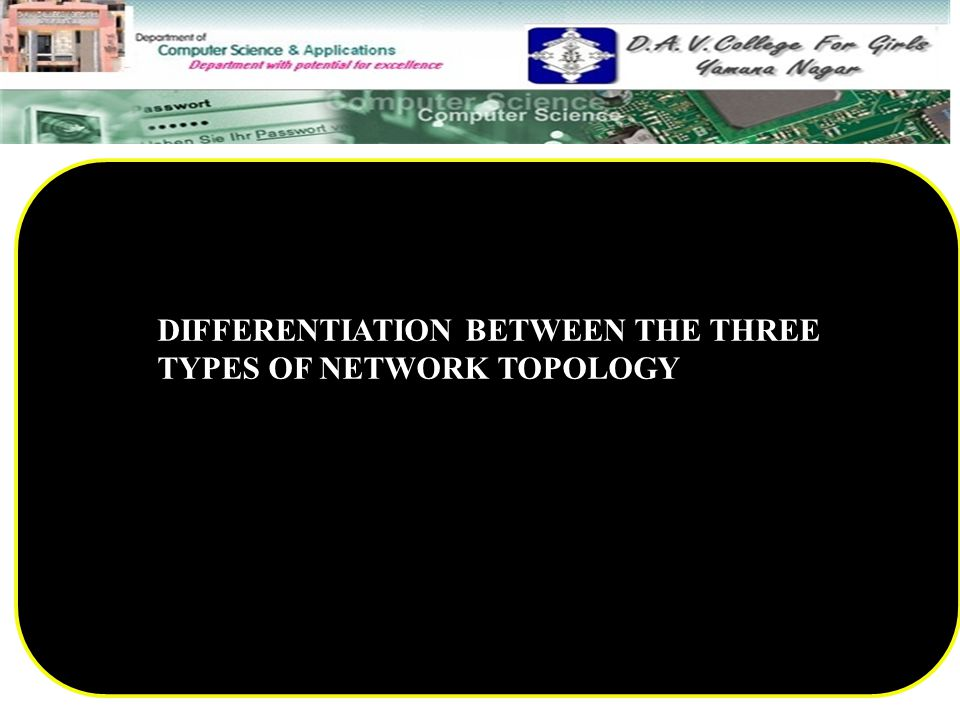 DIFFERENTIATION BETWEEN THE THREE