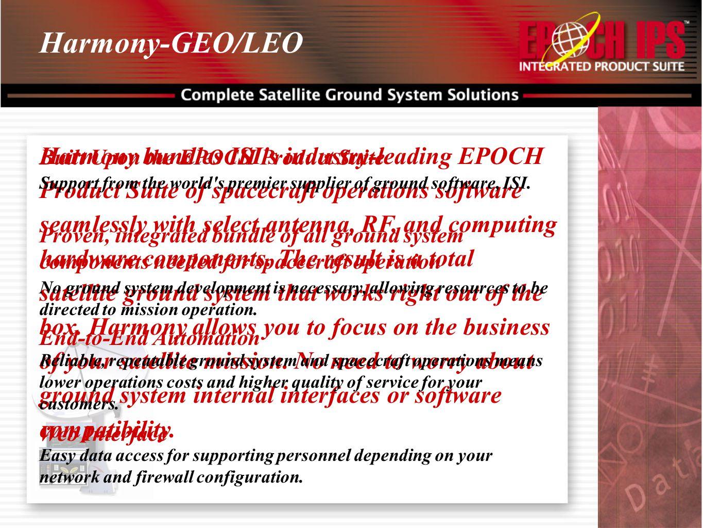 Harmony-GEO/LEO