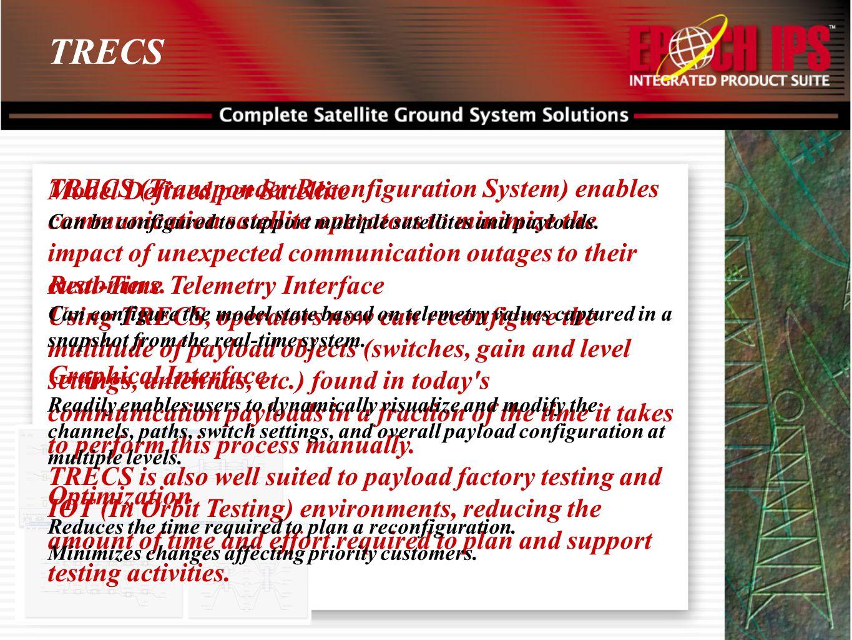 TRECS Model Defined per Satellite.