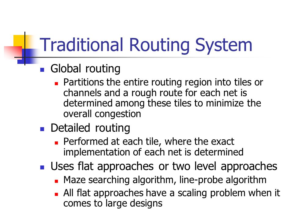 Traditional Routing System