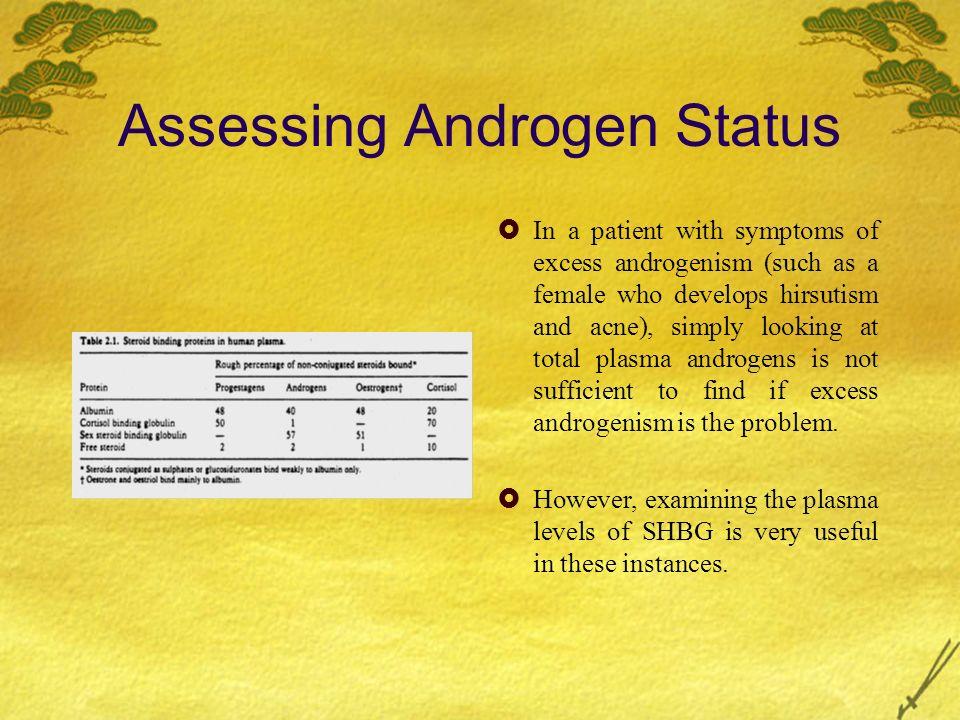 Assessing Androgen Status