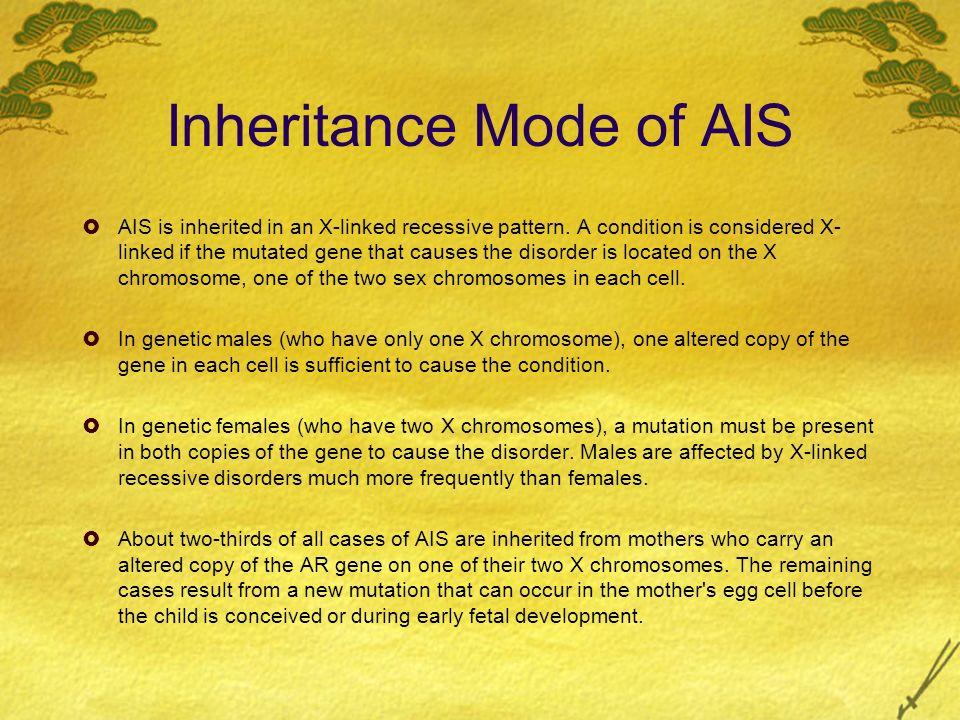 Inheritance Mode of AIS
