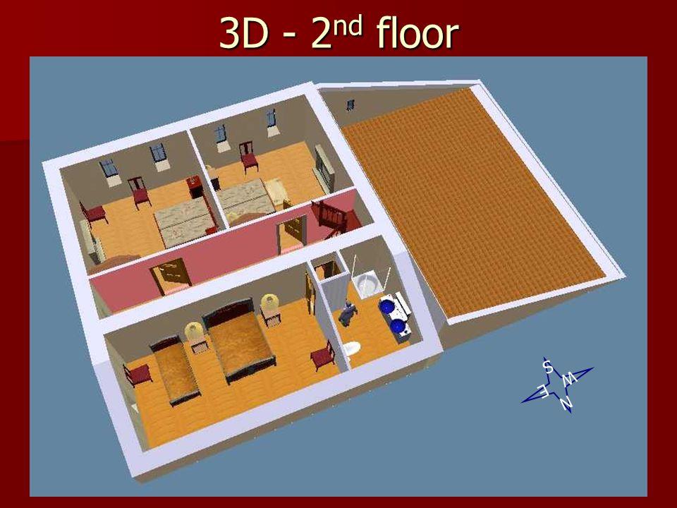 3D - 2nd floor S W E N