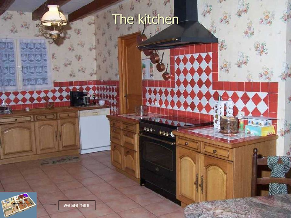 The kitchen we are here