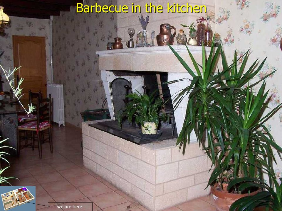 Barbecue in the kitchen