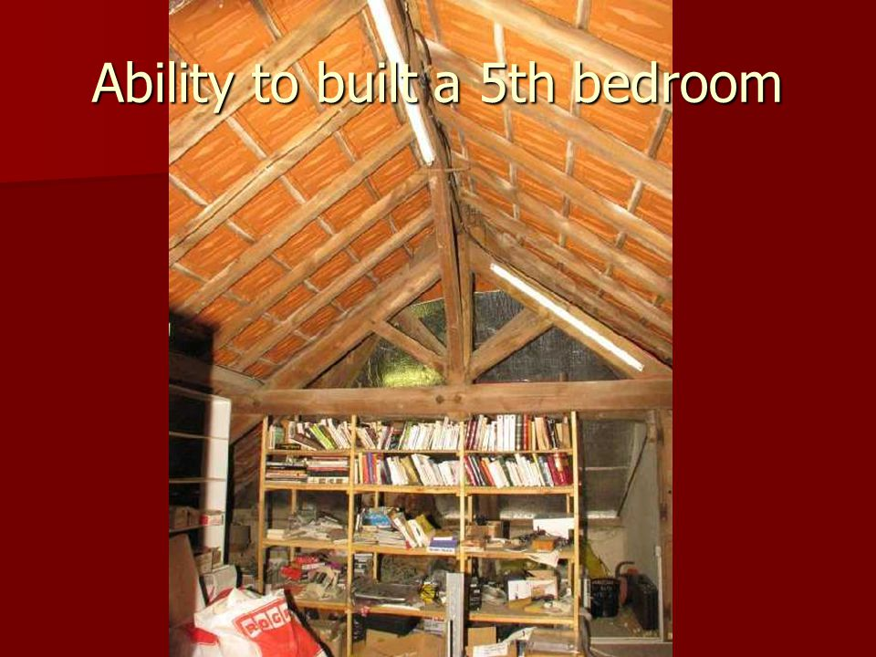 Ability to built a 5th bedroom