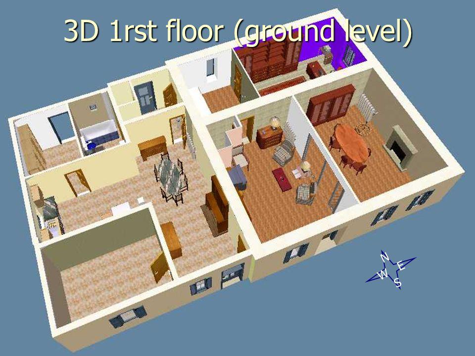 3D 1rst floor (ground level)