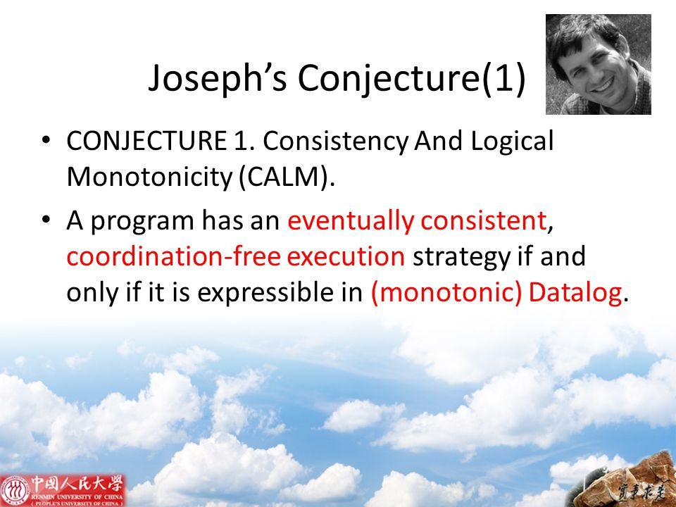 Joseph's Conjecture(1)