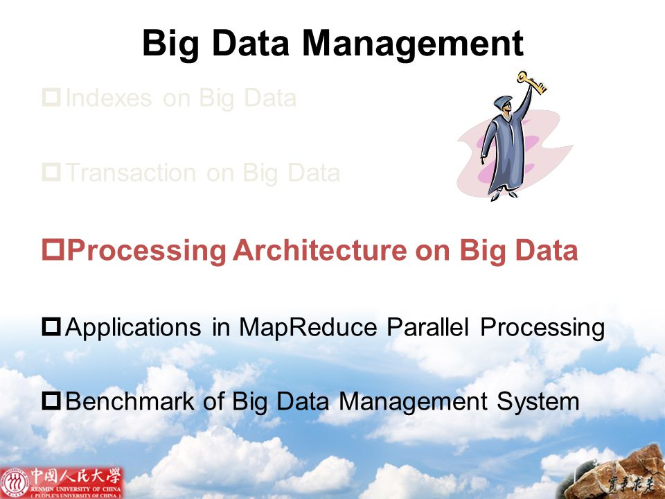 Big Data Management Processing Architecture on Big Data