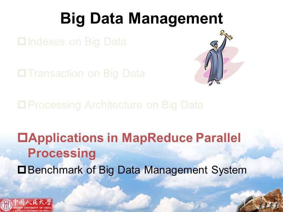 Big Data Management Applications in MapReduce Parallel Processing