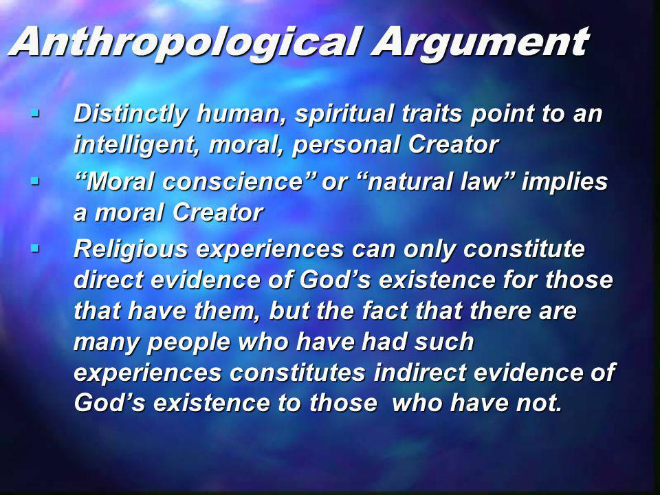 Anthropological Argument