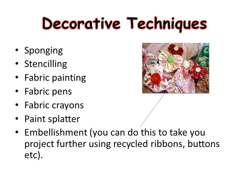 Decorative Techniques