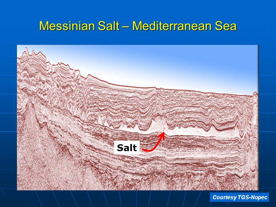 Messinian Salt – Mediterranean Sea