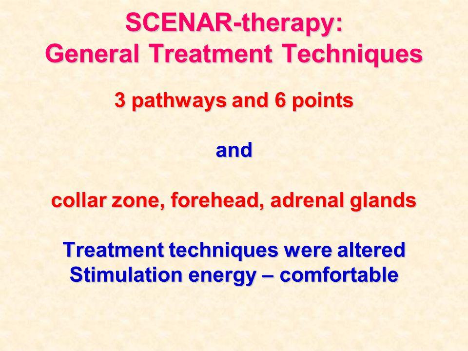 SCENAR-therapy: General Treatment Techniques