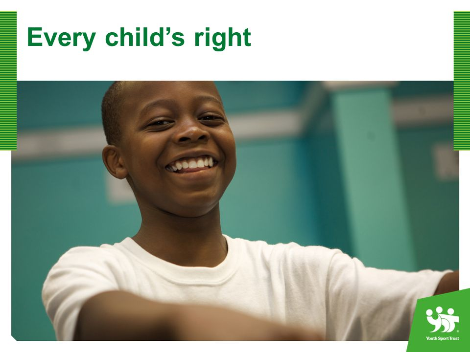 Every child's right