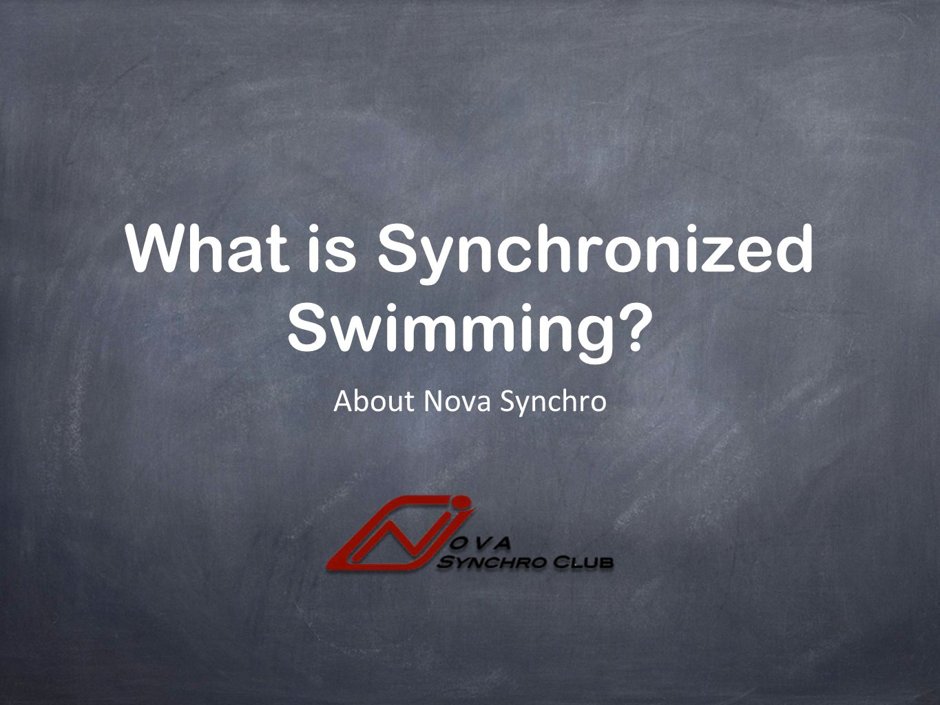 What is Synchronized Swimming