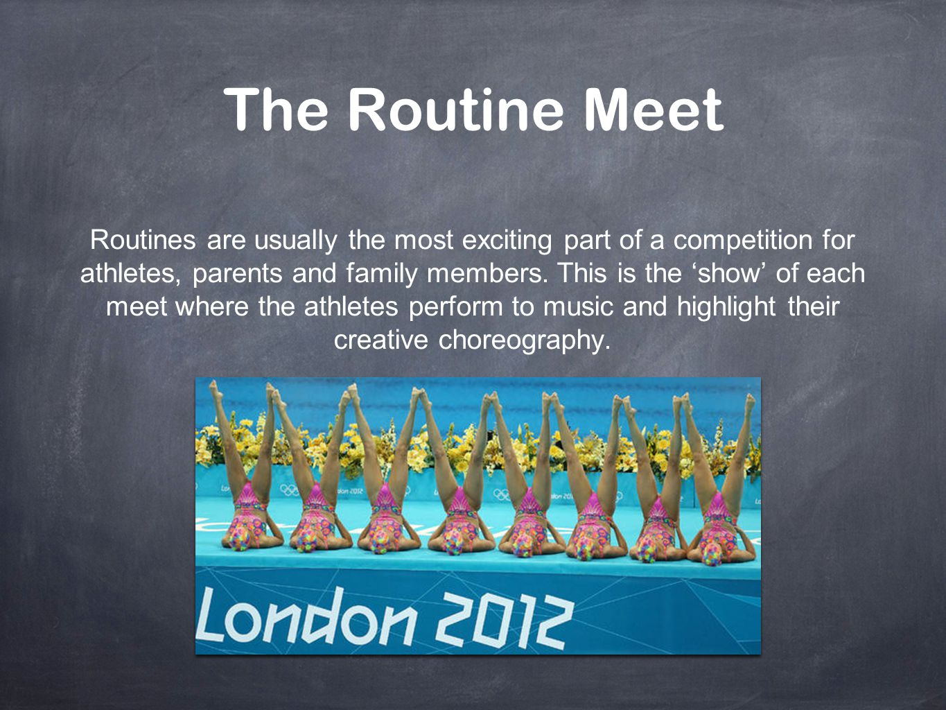 The Routine Meet