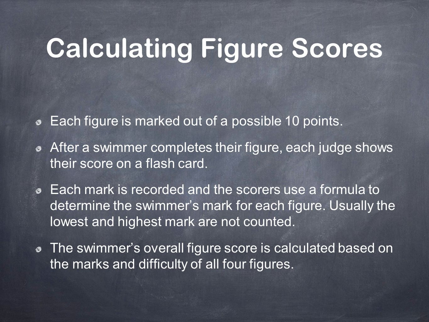 Calculating Figure Scores