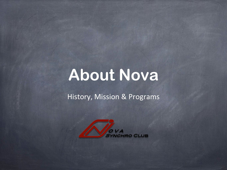 History, Mission & Programs