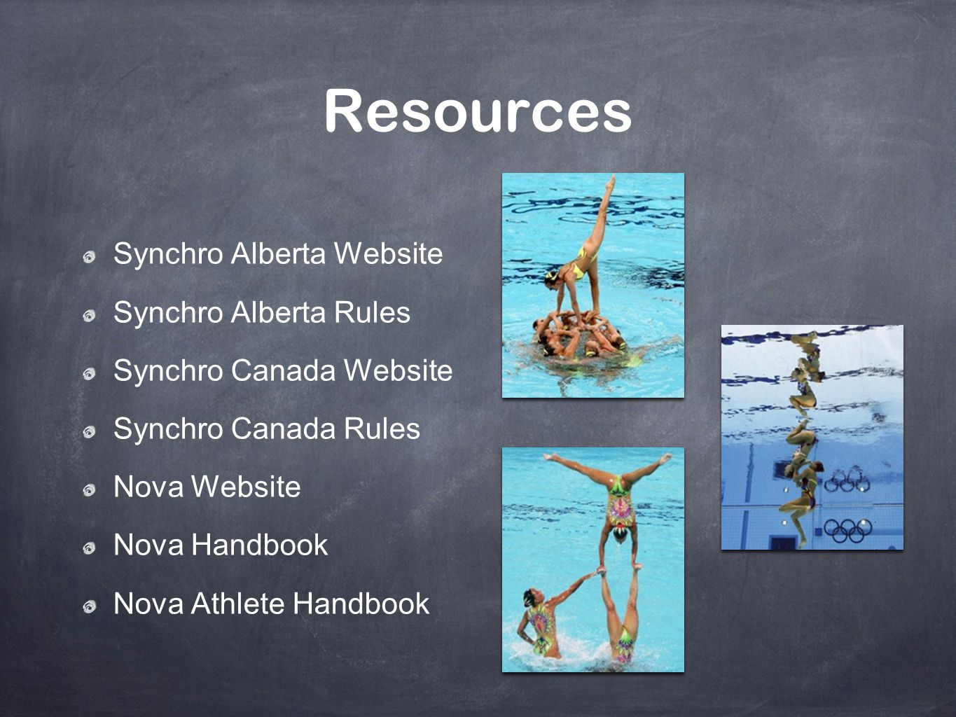 Resources Synchro Alberta Website Synchro Alberta Rules