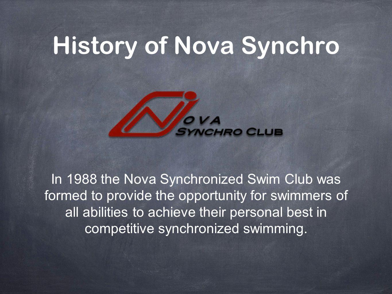 History of Nova Synchro