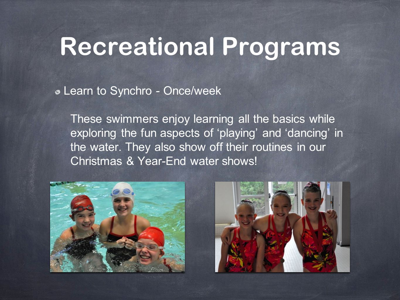 Recreational Programs