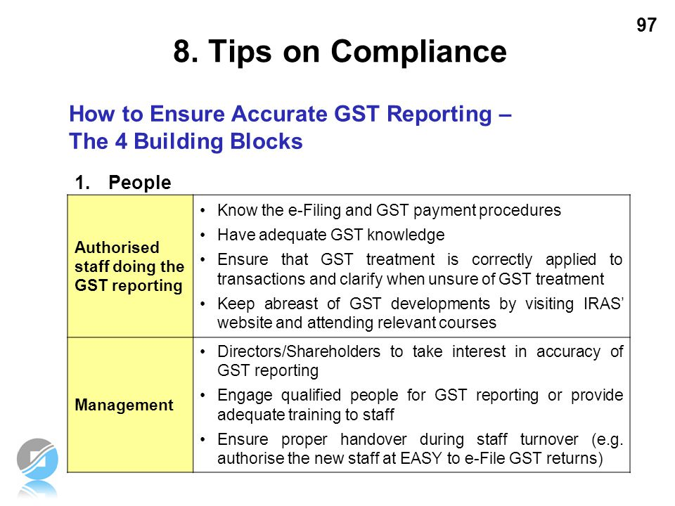 8. Tips on Compliance How to Ensure Accurate GST Reporting –