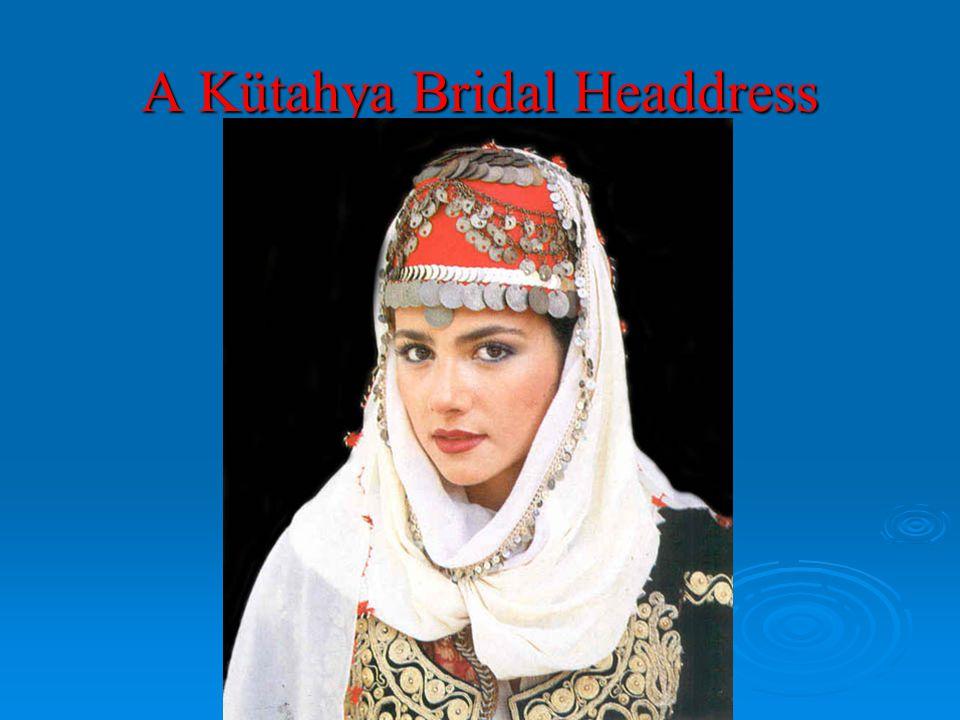 A Kütahya Bridal Headdress