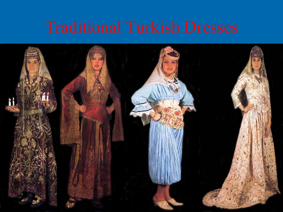 Traditional Turkish Dresses
