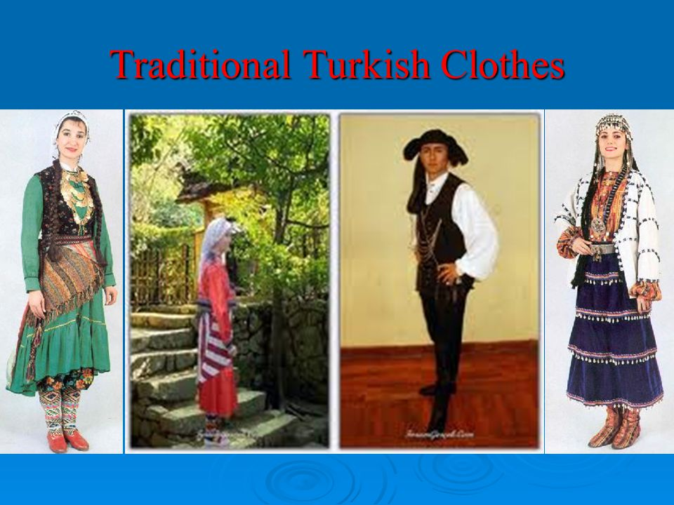 Traditional Turkish Clothes