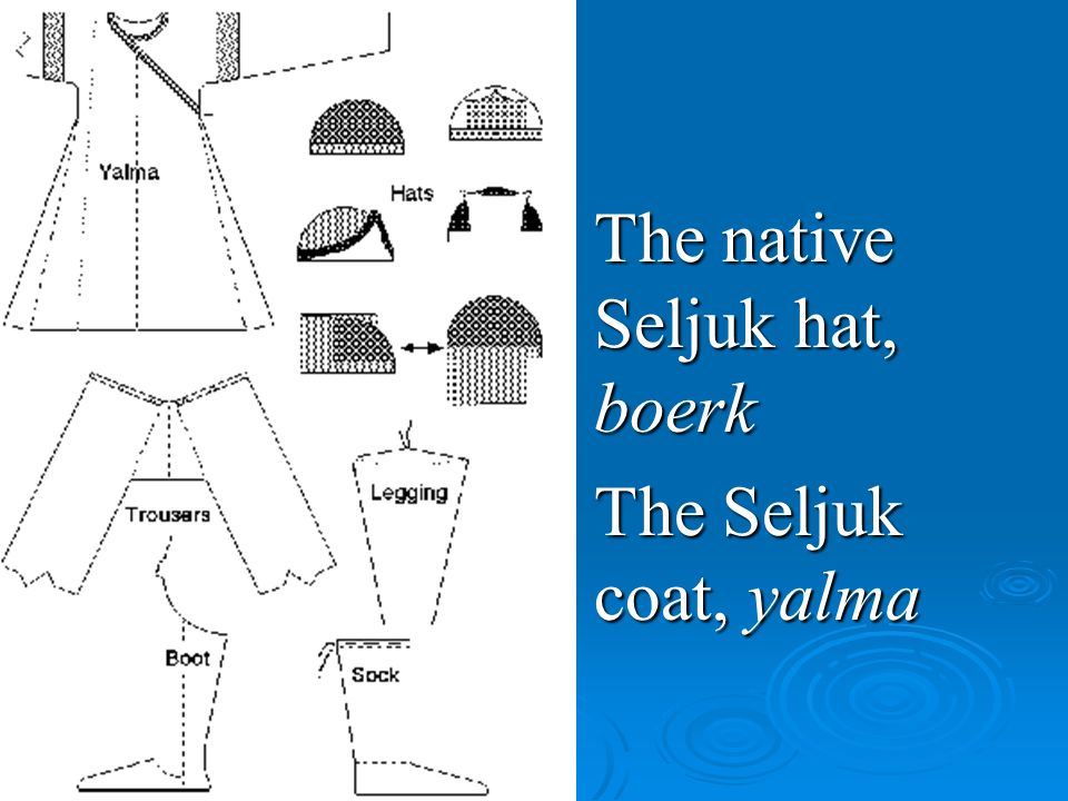 The native Seljuk hat, boerk
