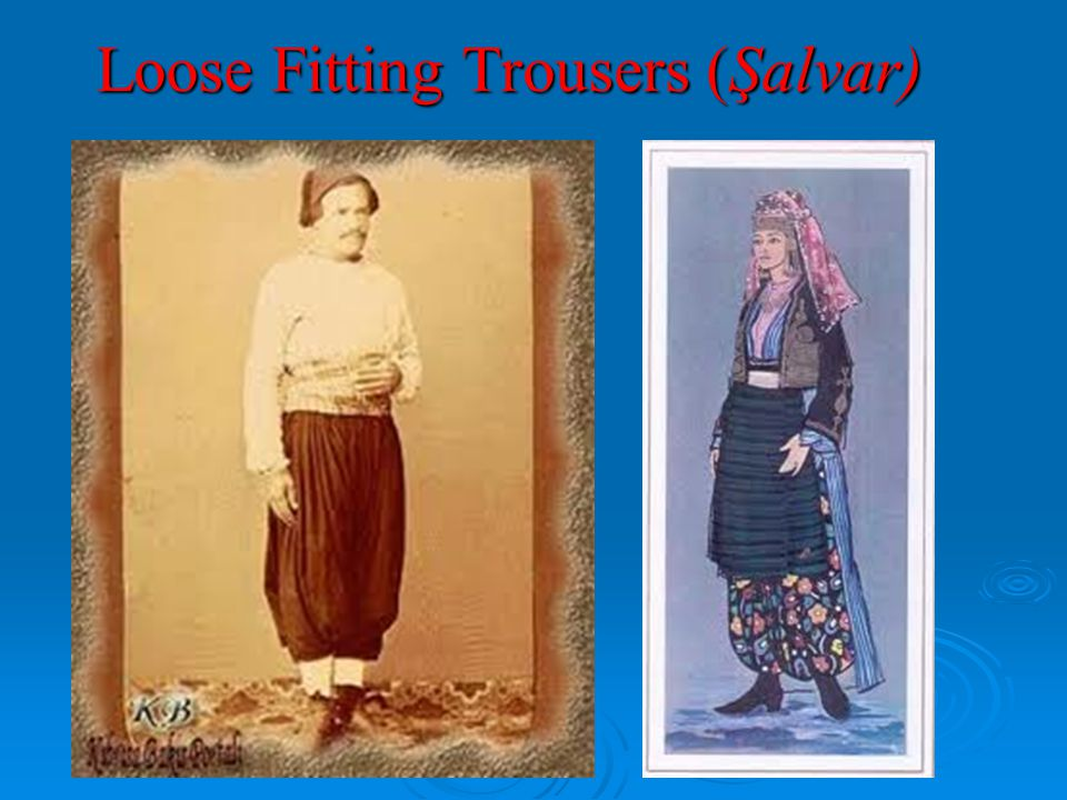 Loose Fitting Trousers (Şalvar)