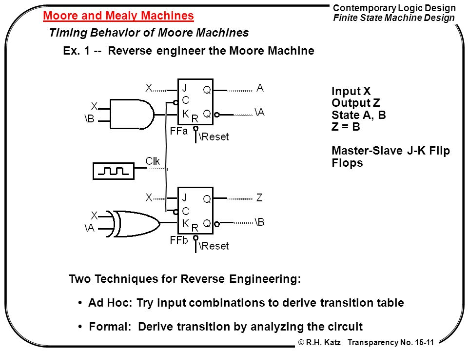 Moore and Mealy Machines