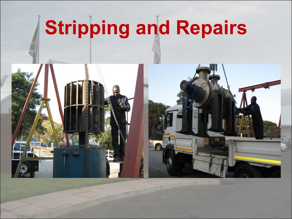 Stripping and Repairs