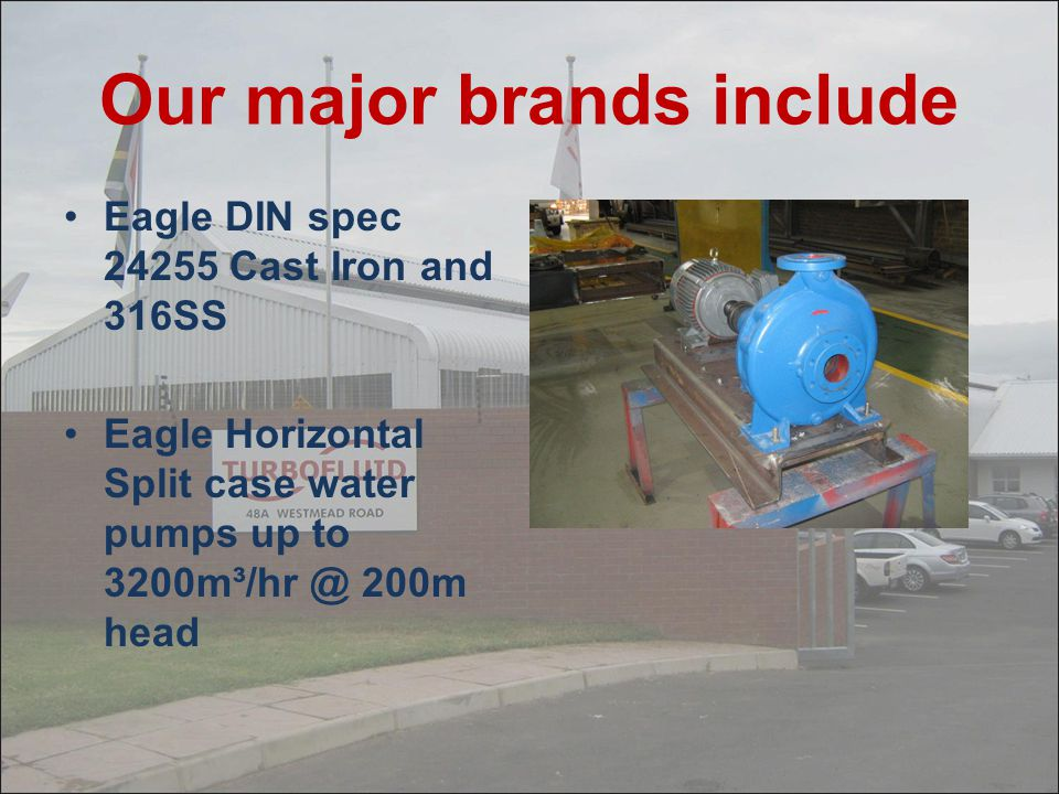 Our major brands include