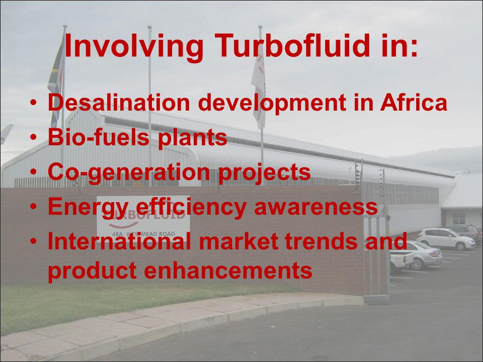 Involving Turbofluid in: