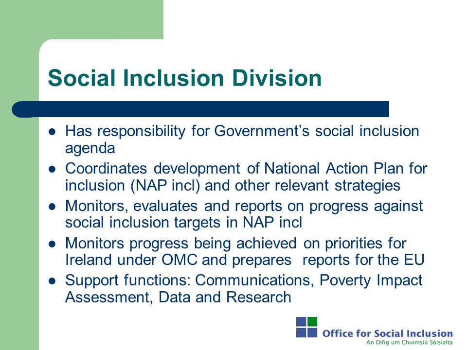 Social Inclusion Division