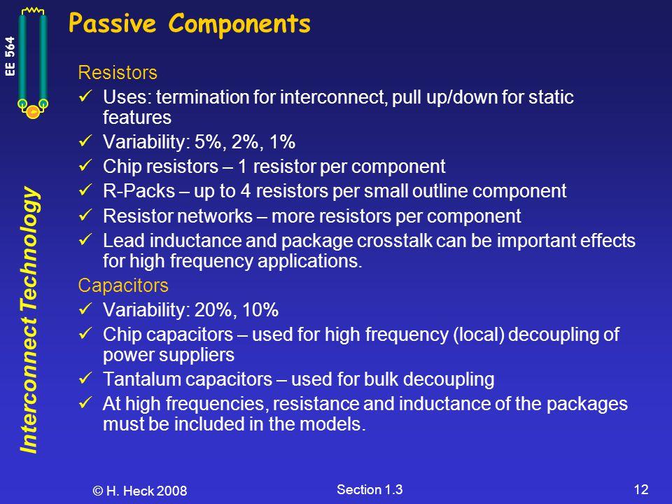 Passive Components Resistors