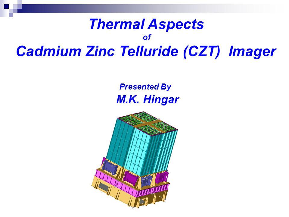 Cadmium Zinc Telluride (CZT) Imager