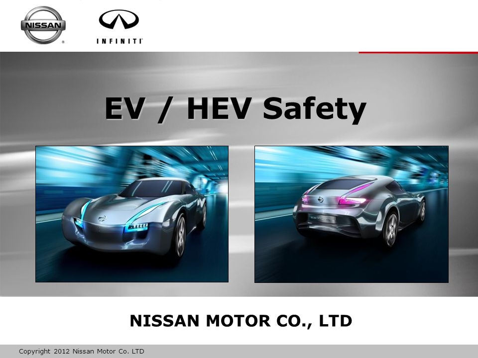 EV / HEV Safety NISSAN MOTOR CO., LTD