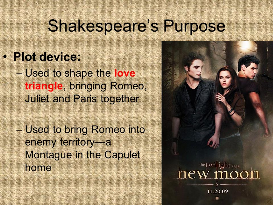 Shakespeare's Purpose