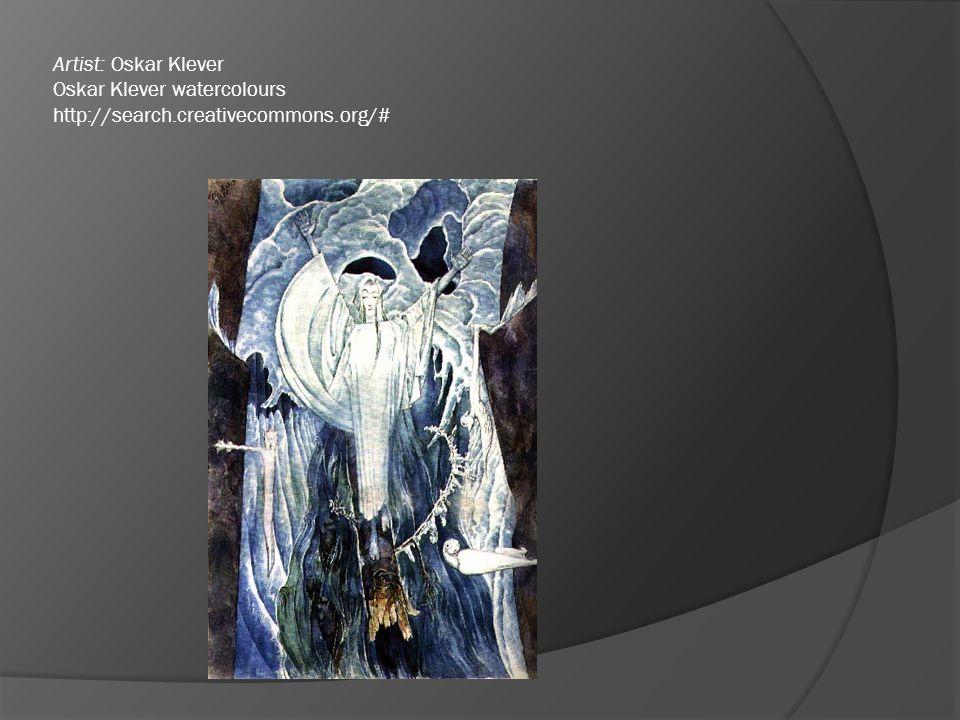 Artist: Oskar Klever Oskar Klever watercolours http://search