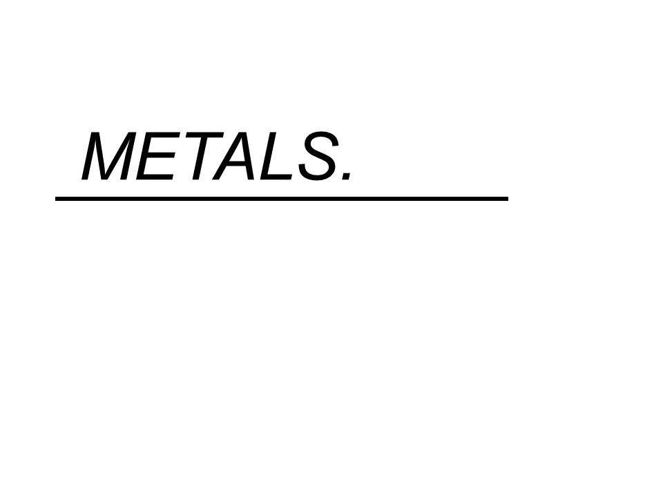 METALS.