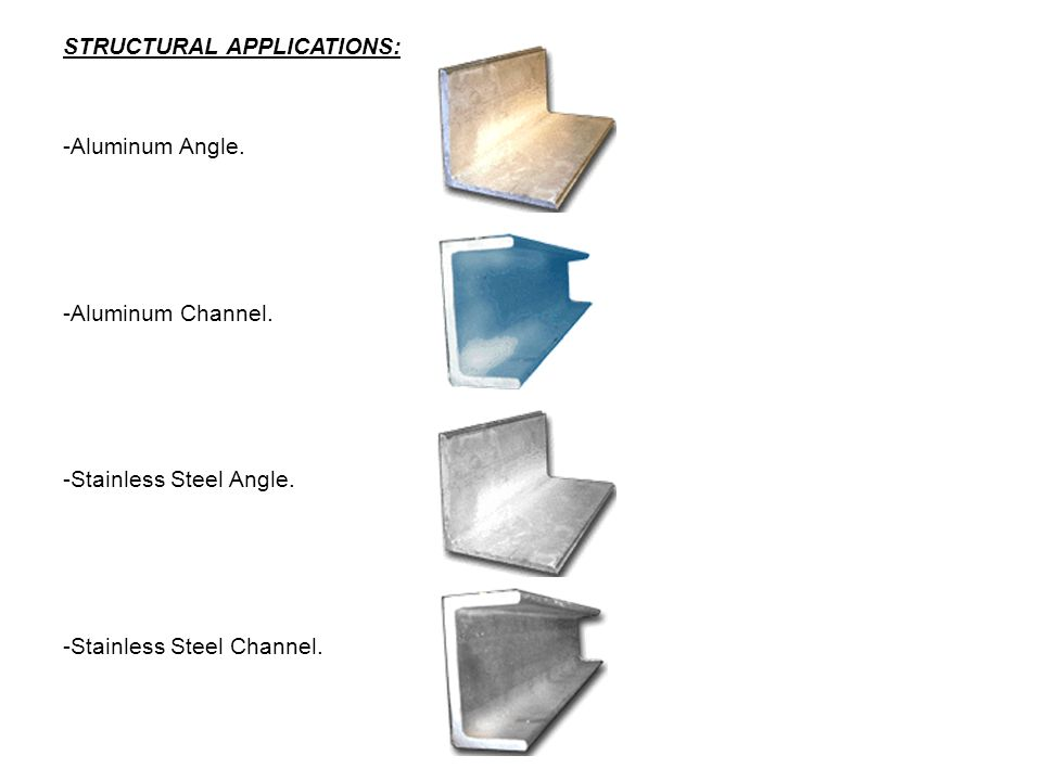 STRUCTURAL APPLICATIONS: