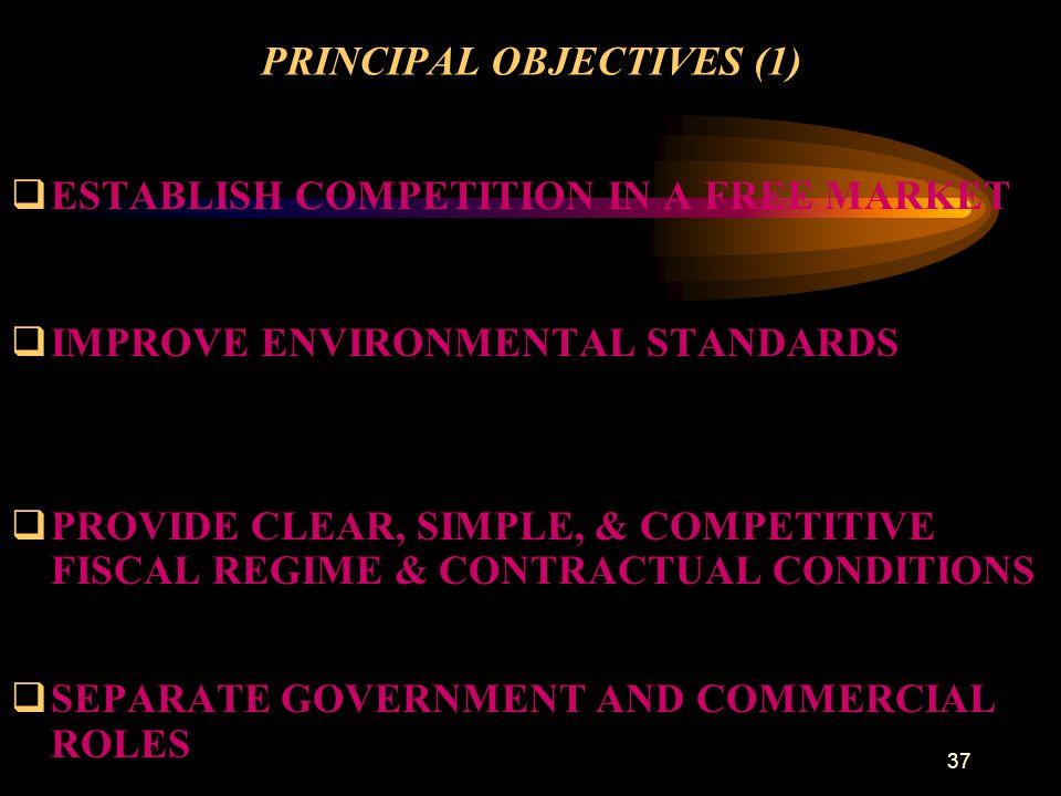 PRINCIPAL OBJECTIVES (1)