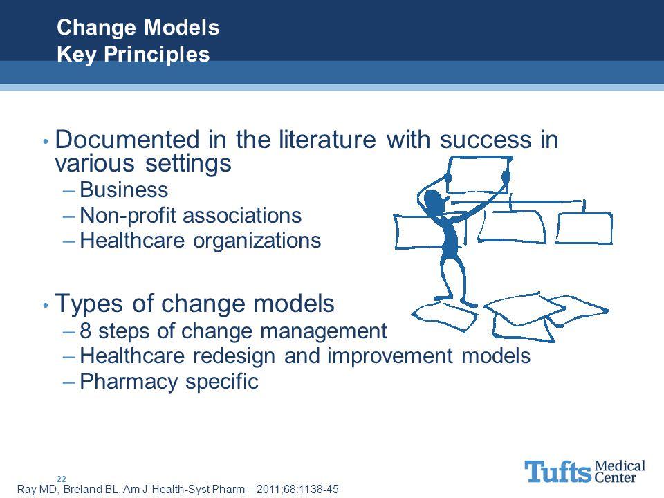 Change Models Key Principles